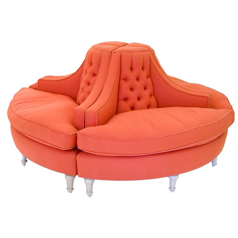 Stunning 4 Piece Round Sofa (View 9 of 20)