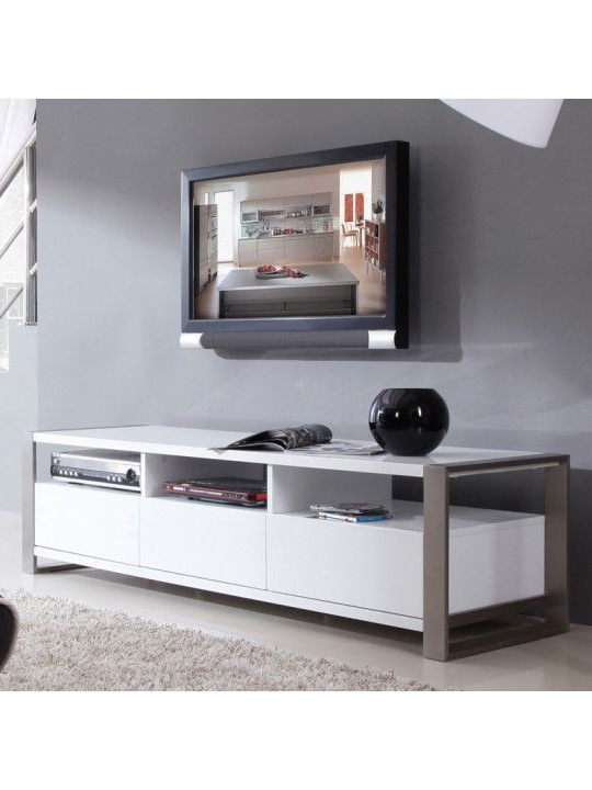 Stylist Tv Stand In High Gloss White (View 20 of 20)