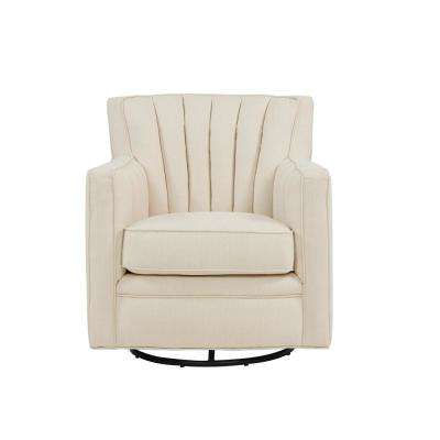 Swivel – Accent Chairs – Chairs – The Home Depot Pertaining To Most Recent Katrina Blue Swivel Glider Chairs (View 19 of 20)