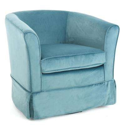 Swivel – Accent Chairs – Chairs – The Home Depot Throughout Widely Used Katrina Grey Swivel Glider Chairs (View 8 of 20)