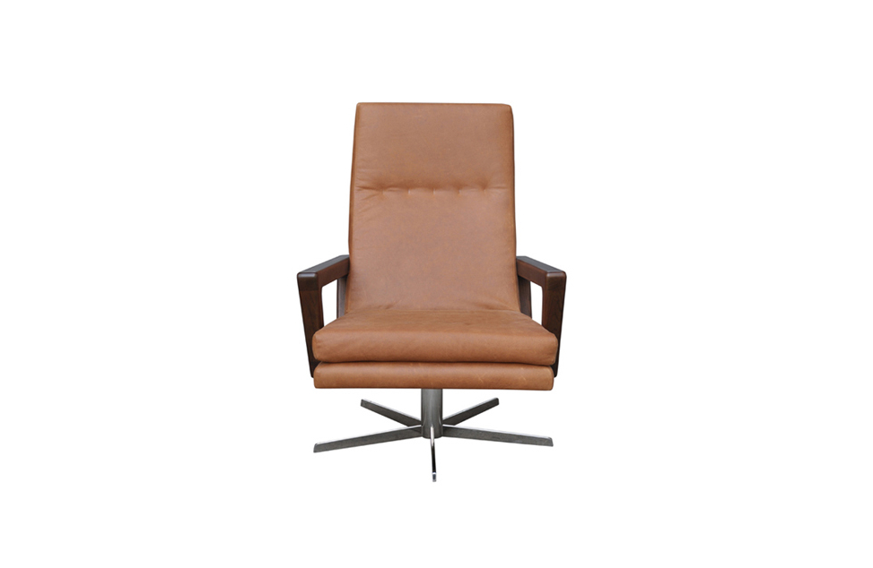 Swivel Occasional Chair – Bay Leather Republic Throughout Popular Aspen Swivel Chairs (View 16 of 20)