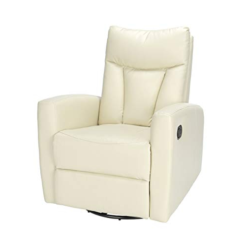 Swivel Recliner Chairs: Amazon Inside Well Known Decker Ii Fabric Swivel Glider Recliners (View 6 of 20)