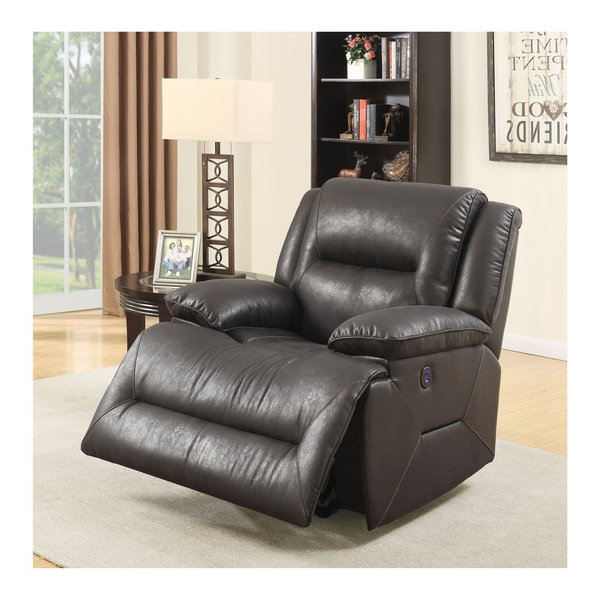 Swivel Recliner Chairs For Living Room Living Spaces Spring 2018 Regarding Favorite Amala Dark Grey Leather Reclining Swivel Chairs (View 14 of 20)