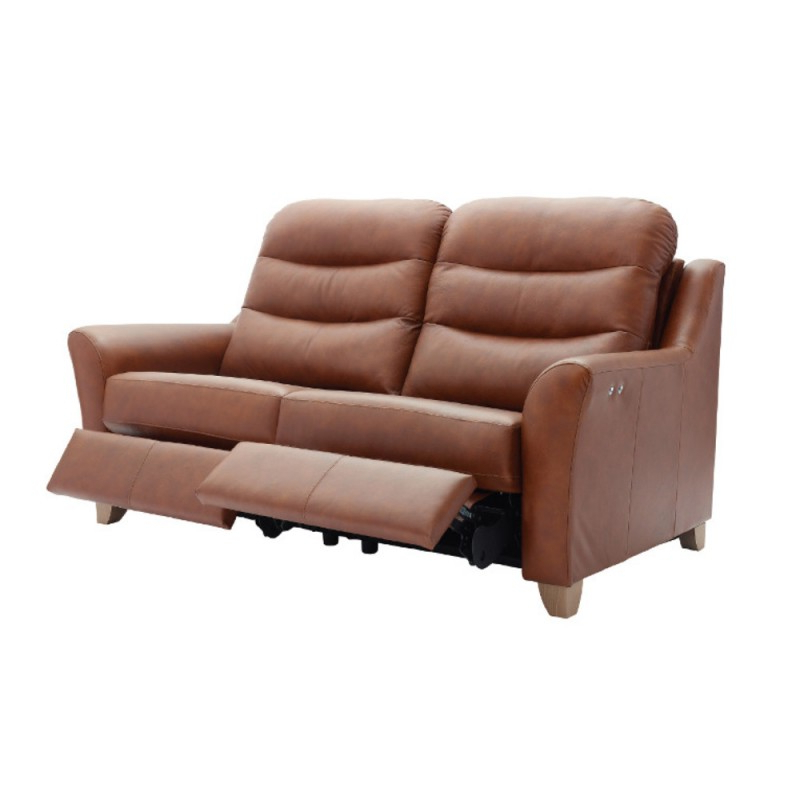 Tate Ii Sofa Chairs With Regard To Well Known G Plan Tate 3 Seater Power Recliner Sofa In Leather (View 16 of 20)