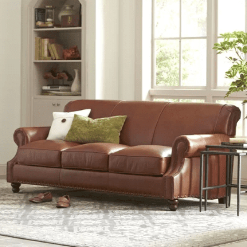 The 8 Best Leather Sofas Of 2019 In Latest Landry Sofa Chairs (View 8 of 20)