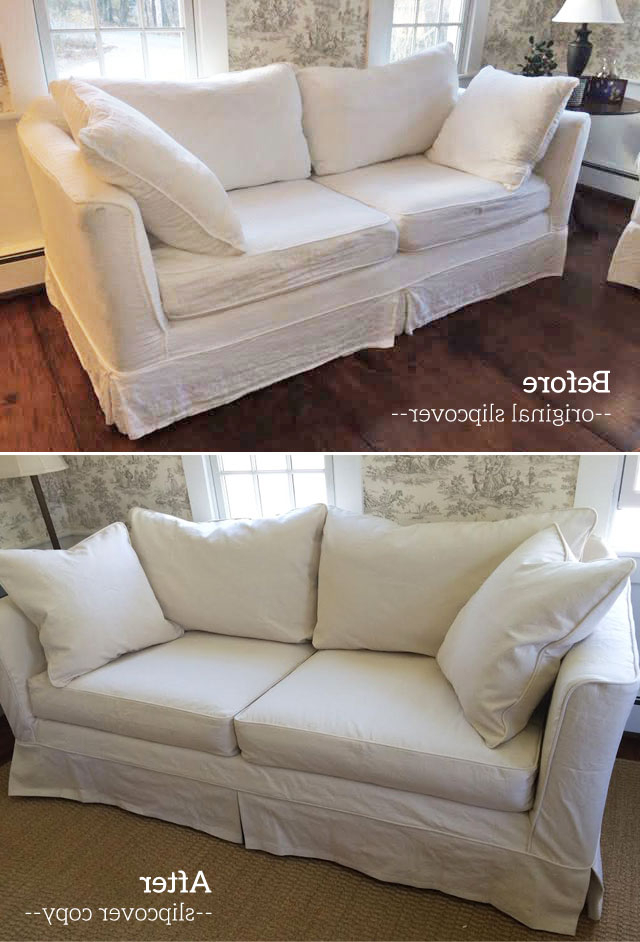 The Slipcover Maker Intended For Mitchell Arm Sofa Chairs (View 17 of 20)