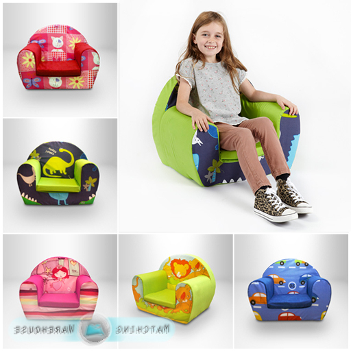 Toddler Sofa Chairs In Most Up To Date Details About Kids Children's Comfy Soft Foam Chair Toddlers Armchair Seat  Nursery Baby Sofa (View 13 of 20)