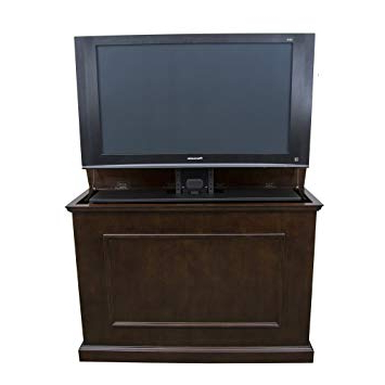 Trendy Amazon: Touchstone 72008 – Elevate Tv Lift Cabinet – Tvs Up To In 24 Inch Tall Tv Stands (View 17 of 20)