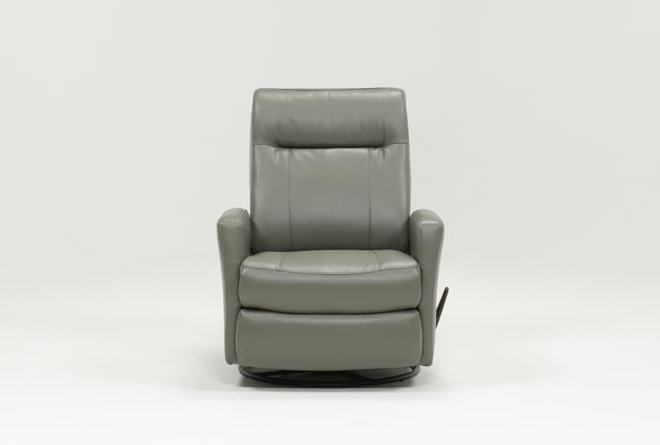 Trendy Dale Iii Polyurethane Swivel Glider Recliner (View 1 of 20)