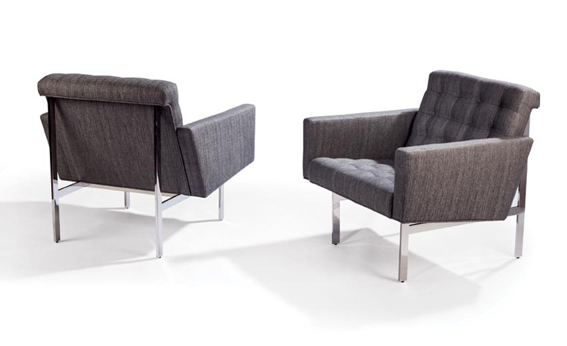 Trendy Milo Sofa Chairs With Spacey Chairsmilo Baughman From Thayer Coggin (View 10 of 20)