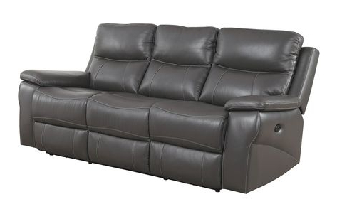 Trendy Moana Taupe Leather Power Reclining Sofa Chairs With Usb Inside List Of Pinterest Recliner Leather Style Pictures & Pinterest (View 11 of 20)