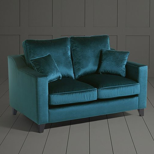 Trendy Tesco Direct: Tate Velvet Small 2 Seater Sofa, (View 17 of 20)