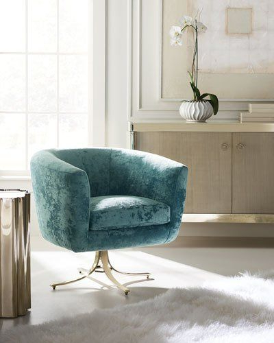 Twirl Swivel Accent Chairs With Regard To Well Known Hbm0n Caracole Twirl Around Swivel Chair (View 3 of 20)