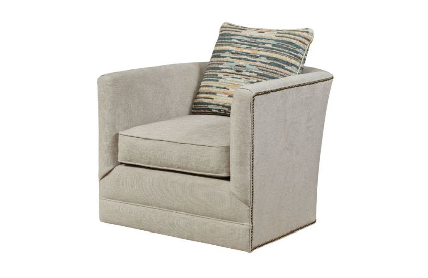 Umber Grey Swivel Accent Chairs Pertaining To Famous Accent Chair (View 7 of 20)