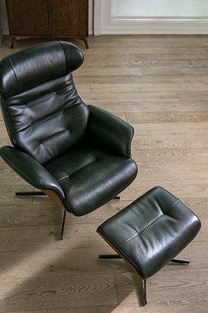 Utterly Luxury – Living Spaces Email Archive Inside Famous Amala Dark Grey Leather Reclining Swivel Chairs (View 17 of 20)