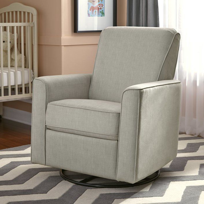 Viv + Rae Marie Swivel Reclining Glider (Gallery 2 of 20)