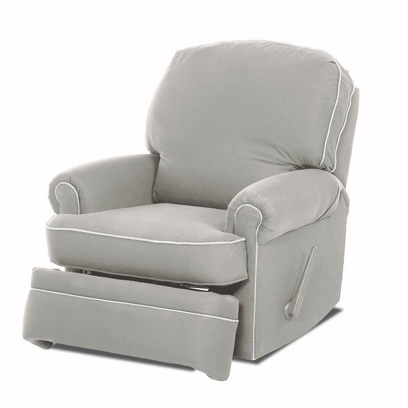 Wayfair Regarding Katrina Blue Swivel Glider Chairs (View 1 of 20)