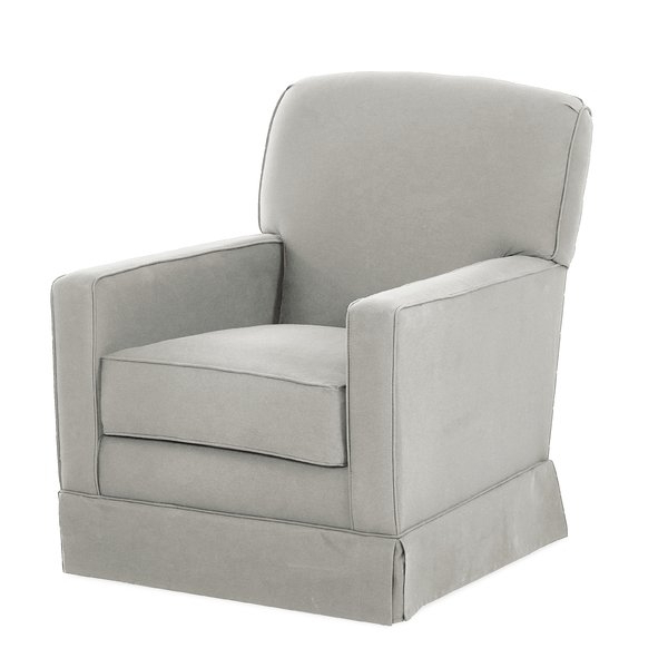 Wayfair With Regard To Most Current Bailey Linen Flare Arm Wing Skirted Swivel Gliders (View 2 of 20)