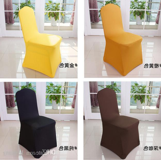 Wedding Chair Covers Hotel Sofa Chair Covers Universal Spandex Sofa In 2017 Cheap Sofa Chairs (View 20 of 20)