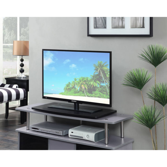 Well Known 32 Inch Tv Stands Inside 32 Inch Tv Stand Flat Screens Mount Assembly Stands Entertainment (View 4 of 20)