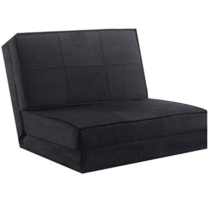 Well Known Amazon: Giantex 5 Position Adjustable Convertible Flip Chair Within Convertible Sofa Chair Bed (View 8 of 20)