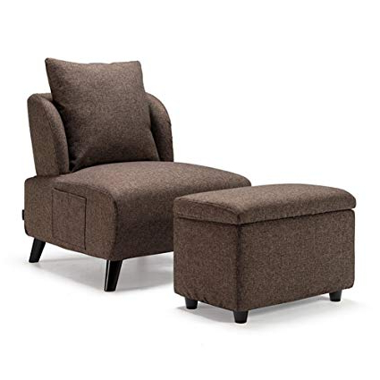 Featured Photo of Sofa Chair With Ottoman