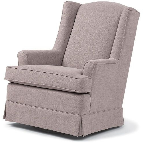 Well Known Bailey Roll Arm Skirted Swivel Gliders Intended For The Best Chairs Sutton Swivel Glider Is A Great Space For You To (View 19 of 20)