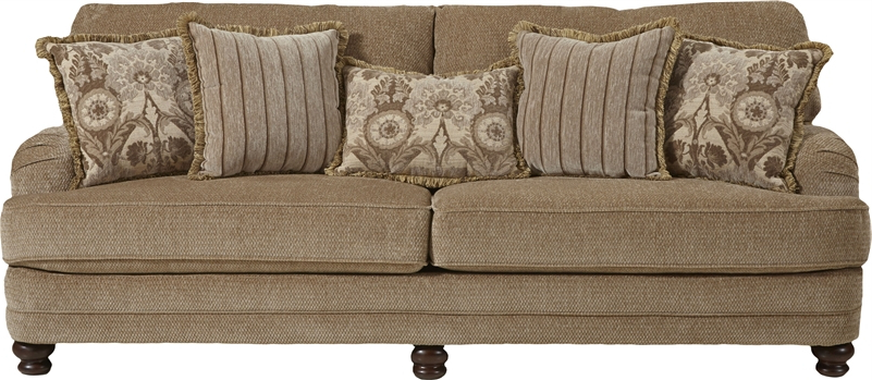 Well Known Brennan Sofa Chairs Intended For Brennan 2 Piece Set In Camel Fabricjackson Furniture – 4438 S C (View 19 of 20)