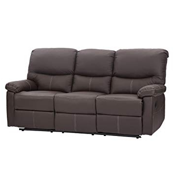Well Known Chaise Sofa Chairs In Amazon: Recliner Sectional Sofa Set, Leather Loveseat Chaise (View 18 of 20)