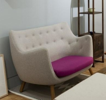 Well Known Double Gannet Sofa Chair Bedroom Office Balcony Fiberglass Sofa Throughout Bedroom Sofa Chairs (View 20 of 20)