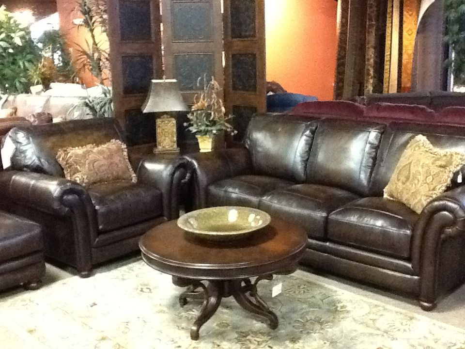 Well Known Lazy Boy William Sofa, Chair And Ottoman In Gorgeous Dark Chocolate In Lazy Boy Sofas And Chairs (View 4 of 20)