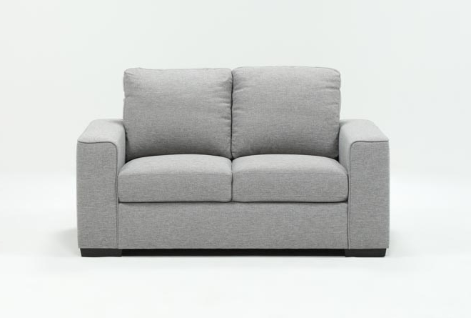 Well Known Lucy Grey Sofa Chairs Regarding Lucy Grey Loveseat (View 17 of 20)