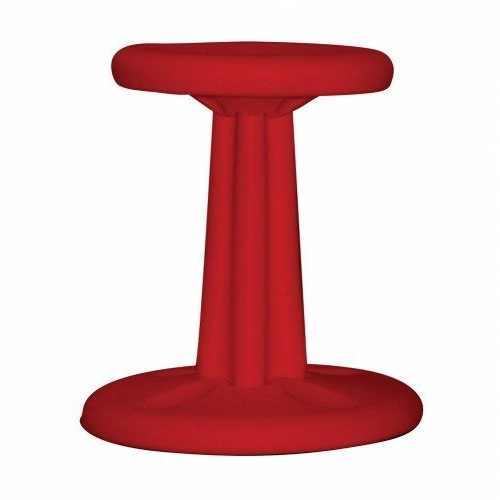 Well Known Outdoor Koro Swivel Chairs Throughout Kore Wobble Chair For Preschool – Red 12in (View 8 of 20)