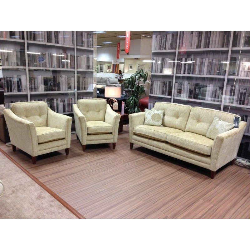 Well Known Sofa Chairs Throughout Wade Tamara 3 Seater Sofa And 2 Chairs – The Place For Homes (View 20 of 20)
