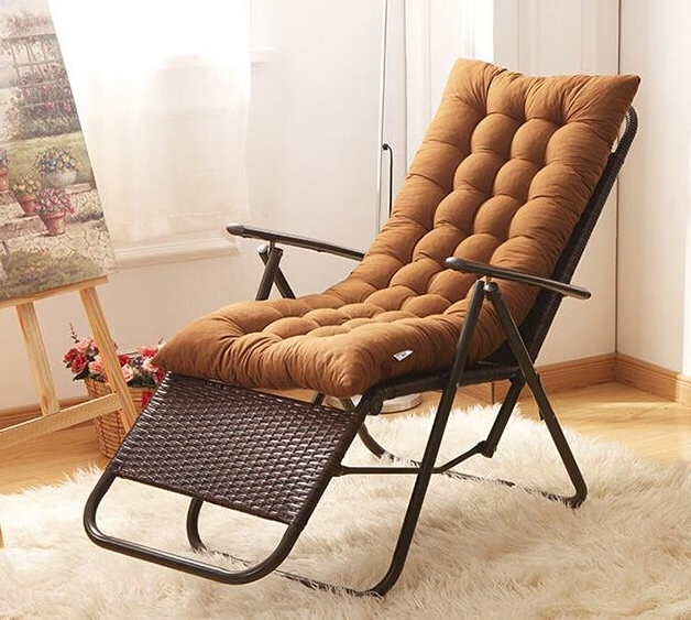Well Known Sofa Rocking Chairs Throughout Summer Recliner Rocking Chair Mat Thick Rattan Chair Cushions (View 12 of 20)