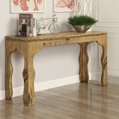 Well Known Sofa Table With Chairs Throughout Hazelwood Home Maple 3 Piece Console Table Set & Reviews (View 10 of 20)