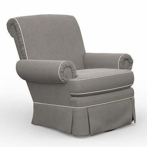 Well Liked Best Chairs Victoria Swivel Glider – Stone/linen – Best Chairs For Bailey Roll Arm Skirted Swivel Gliders (View 20 of 20)