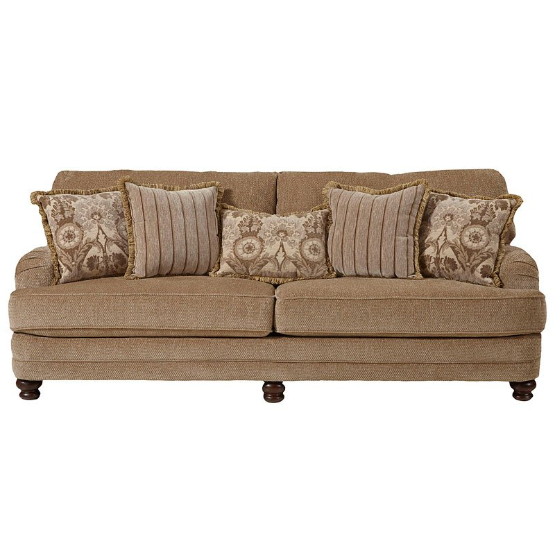 Well Liked Brennan Sofa Chairs Regarding Brennan Sofa (camel) Jackson Furniture (View 20 of 20)