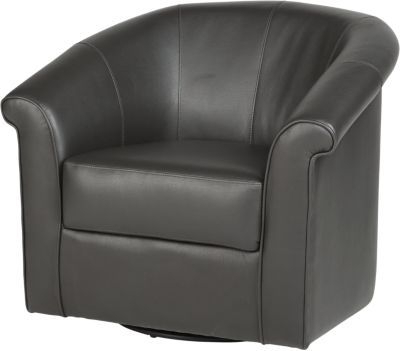 Well Liked Charcoal Swivel Chairs Inside Benning Charcoal Swivel Chair . $299.99. 36w X 29.5d X 31.5h (View 12 of 20)