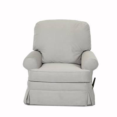 Well Liked Dale Iii Polyurethane Swivel Glider Recliners Regarding Darby Home Co Dale Manual Glider Recliner & Reviews (View 20 of 20)