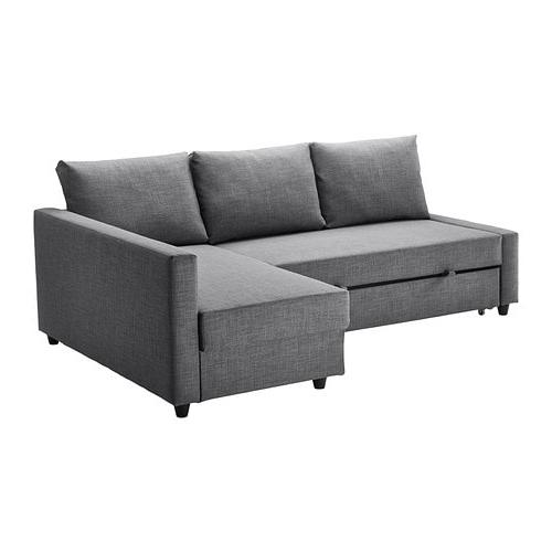 Well Liked Friheten Corner Sofa Bed With Storage Skiftebo Dark Grey – Ikea Intended For London Dark Grey Sofa Chairs (View 14 of 20)