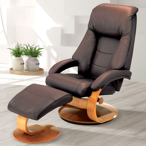 Well Liked Mac Motion Chairs Espresso (Brown) Top Grain Leather Swivel In Espresso Leather Swivel Chairs (View 20 of 20)