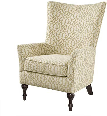 Well Liked Sadie Ii Swivel Accent Chairs Pertaining To Amazon: Stone & Beam Sadie Buffalo Check Wingback Chair: Kitchen (View 14 of 20)