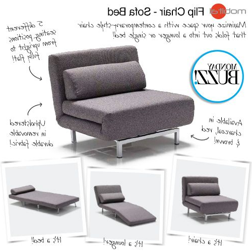 Well Liked Single Sofa Bed Chairs Pertaining To Catch You On The Flip Side! Our #mondaybuzz Is This Flip Chair (View 20 of 20)