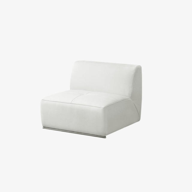 White Modular Chair – Abigail Set – Mobler Modern Furniture Edmonton In Most Recent Abigail Ii Sofa Chairs (View 20 of 20)