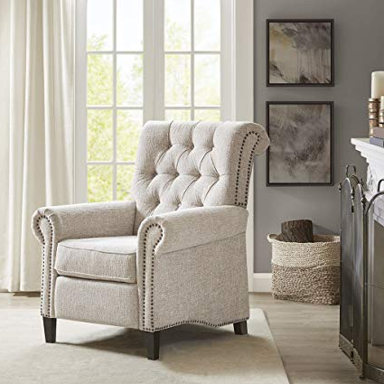 Widely Used Aidan Ii Swivel Accent Chairs Regarding Amazon: Aidan Recliner Chair Cream See Below: Kitchen & Dining (View 10 of 20)