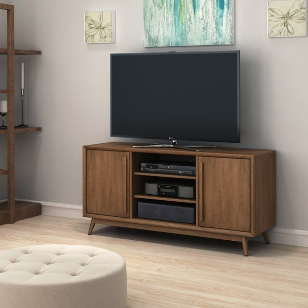 Widely Used Birch Tv Stands Pertaining To Shop Leawood Tv Stand For Tvs Up To 60 Inches, Broadwalk Birch (View 18 of 20)