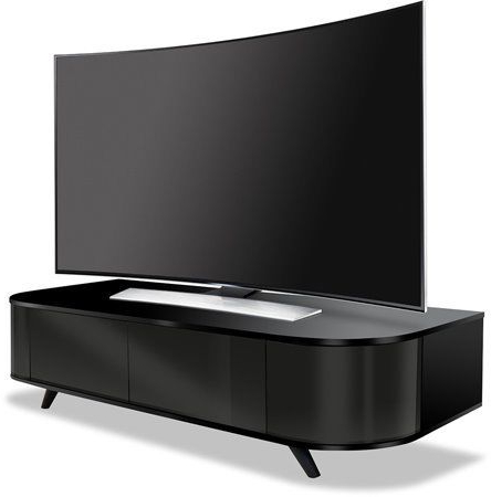 "Widely Used Centurion Supports Lotte Beam Thru Remote Gloss Black 26"" 52"" Flat With Beam Thru Tv Cabinets (View 19 of 20)"