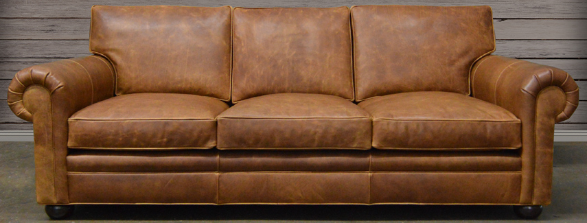 Widely Used Leather Sofa: Full Grain And Top Grain Leather At Throughout Andrew Leather Sofa Chairs (View 20 of 20)