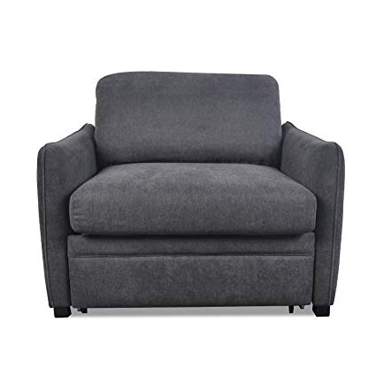 Widely Used Single Chair Sofa Bed With Regard To Amazon: Living Room Furniture Single Chair – Pull Out Sofa Bed (View 1 of 20)